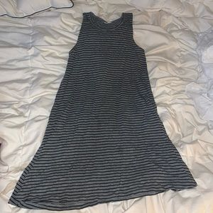 Soft striped madewell dress
